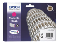 Epson 79XL - 17.1 ml - XL - magenta - original - blekkpatron - for WorkForce Pro WF-4630DWF, WF-4640DTWF, WF-5110DW, WF-5190DW, WF-5620DWF, WF-5690DWF C13T79034010