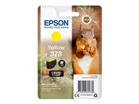 Epson 378 - 4.1 ml - gul - original - blister - blekkpatron - for Expression Home HD XP-15000; Expression Photo XP-8500, XP-8500 Small-in-One, XP-8505 C13T37844010