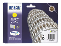 Epson 79XL - 17.1 ml - XL - gul - original - blekkpatron - for WorkForce Pro WF-4630DWF, WF-4640DTWF, WF-5110DW, WF-5190DW, WF-5620DWF, WF-5690DWF C13T79044010