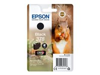 Epson 378 - 5.5 ml - svart - original - blister - blekkpatron - for Expression Home HD XP-15000; Expression Photo XP-8500, XP-8500 Small-in-One, XP-8505 C13T37814010