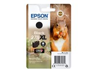 Epson 378XL - 11.2 ml - XL - svart - original - blære med RF/lyd-alarm - blekkpatron - for Expression Home HD XP-15000; Expression Photo XP-8500 Small-in-One C13T37914020