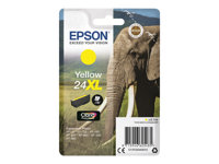Epson 24XL - 8.7 ml - XL - gul - original - blære med RF-alarm - blekkpatron - for Expression Photo XP-55, 750, 760, 850, 860, 950, 960; Expression Premium XP-750, 850 C13T24344022
