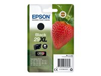Epson 29XL - 11.3 ml - XL - svart - original - blister - blekkpatron - for Expression Home XP-245, 247, 255, 257, 332, 342, 345, 352, 355, 435, 442, 445, 452, 455 C13T29914012