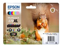 Epson 378XL Multipack - 6-pack - XL - svart, gul, cyan, magenta, lys magenta, lys cyan - original - blister - blekkpatron - for Expression Photo XP-8500, XP-8500 Small-in-One, XP-8505 C13T37984010