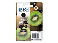 Epson 202XL - 13.8 ml - svart - original - blister - blekkpatron - for Expression Premium XP-6000, XP-6005 C13T02G14010