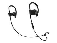 Beats Powerbeats3 - Ørepropper med mikrofon - i øret - over-øret-montering - Bluetooth - trådløs - lydisolerende - svart - for 10.5-inch iPad Pro; 12.9-inch iPad Pro; 9.7-inch iPad (5th generation, 6th generation); 9.7-inch iPad Pro; iPad Air; iPad Air 2; iPad mini 2; 3; 4; iPhone 5, 5c, 5s, 6, 6 Plus, 6s, 6s Plus, 7, 7 Plus, 8, 8 Plus, SE, X; iPod touch (6G); TV; Watch ML8V2ZM/A