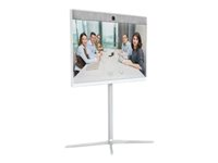 Cisco Spark Room 55 - GPL - Videokonferansesett - med Cisco Floor Stand Kit (CS-ROOM55-FSK), 2 x Cisco TelePresence Table Microphone 20 (CTS-MIC-TABL20+) CS-ROOM55-K9