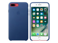 Apple - Baksidedeksel for mobiltelefon - lær - safir - for iPhone 7 Plus MPTF2ZM/A