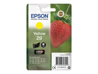 Epson 29 - 3.2 ml - gul - original - blister - blekkpatron - for Expression Home XP-245, 247, 255, 257, 332, 342, 345, 352, 355, 435, 442, 445, 452, 455 C13T29844012