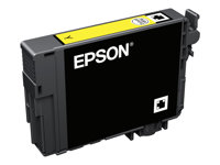 Epson 502 - 3.3 ml - gul - original - blære med RF/lyd-alarm - blekkpatron - for Expression Home XP-5100; WorkForce WF-2860 C13T02V44020