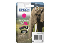 Epson 24XL - 8.7 ml - XL - magenta - original - blære med RF-alarm - blekkpatron - for Expression Photo XP-55, 750, 760, 850, 860, 950, 960; Expression Premium XP-750, 850 C13T24334022
