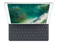 Apple Smart - Tastatur og folioveske - Apple Smart connector - Svensk - for 10.2-inch iPad (7. generasjon); 10.5-inch iPad Air (3. generasjon); 10.5-inch iPad Pro MPTL2S/A